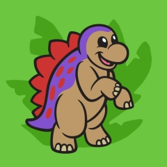 Steggy the Stegosaurus